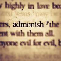 admonish